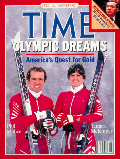 TIME Magazine Cover: Mahre and McKinney -- Jan. 30, 1984