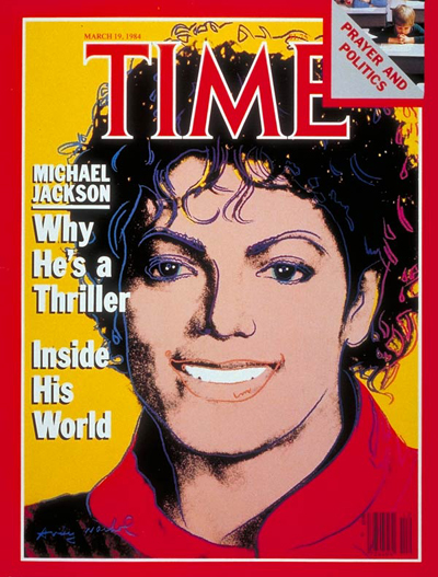 TIME Magazine Cover: Michael Jackson -- Mar. 19, 1984