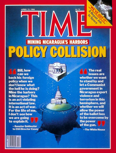 TIME Magazine Cover: Policy on Nicaragua -- Apr. 23, 1984