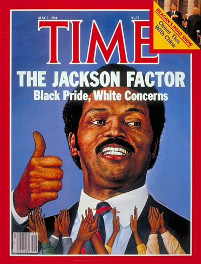 TIME Magazine Cover: Jesse Jackson -- May 7, 1984