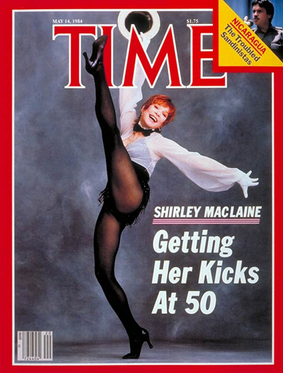 TIME Magazine Cover: Shirley MacLaine -- May 14, 1984