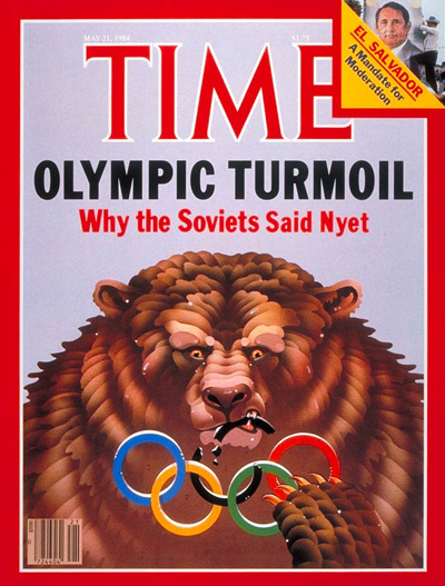 TIME Magazine Cover: Olympic Turmoil -- May 21, 1984