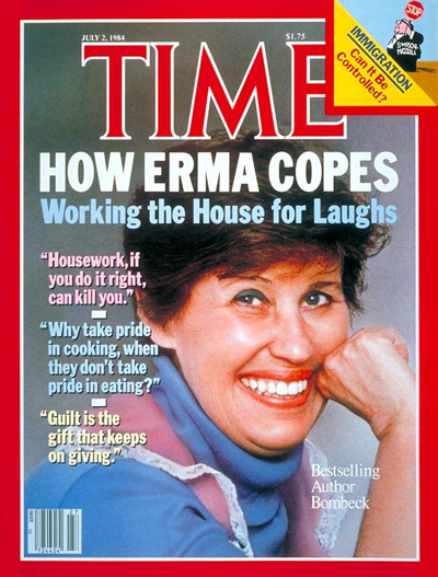 TIME Magazine Cover: Erma Bombeck -- July 2, 1984