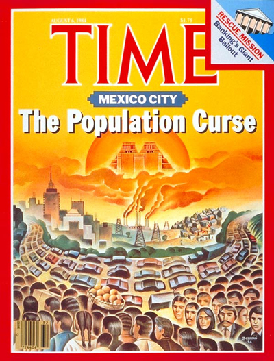 TIME Magazine Cover: Mexico City -- Aug. 6, 1984
