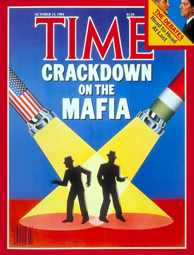 TIME Magazine Cover: Crackdown on the Mafia -- Oct. 15, 1984