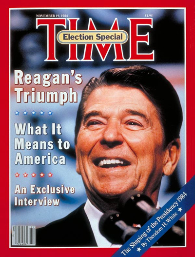 TIME Magazine Cover: Ronald Reagan -- Nov. 19, 1984