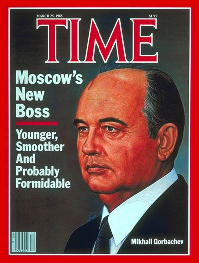 TIME Magazine Cover: Mikhail Gorbachev -- Mar. 25, 1985