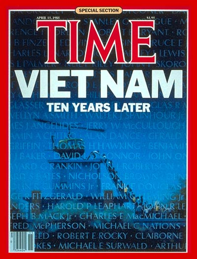 TIME Magazine Cover: Vietnam, a Decade Later -- Apr. 15, 1985