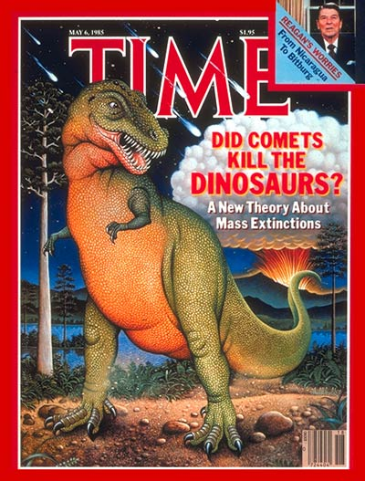 Comet illusrates a new theory on extinction of the dinosaurs