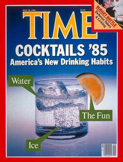 TIME Magazine Cover: New Drinking Habits -- May 20, 1985