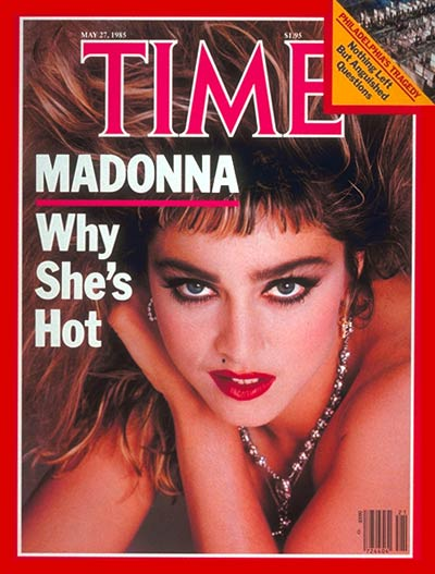 TIME Magazine Cover: Madonna -- May 27, 1985