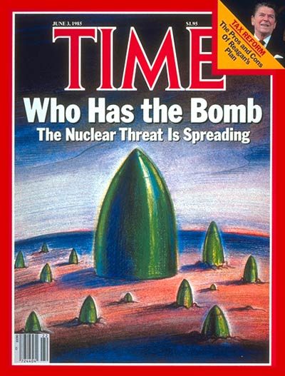 TIME Magazine Cover: Nuclear Threat -- June 3, 1985