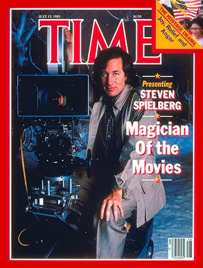 TIME Magazine Cover: Steven Spielberg -- July 15, 1985