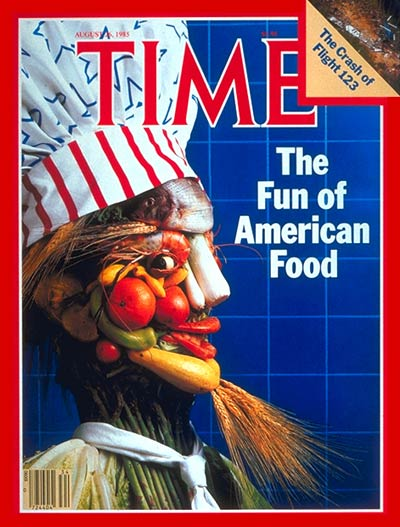 TIME Magazine Cover: American Food -- Aug. 26, 1985