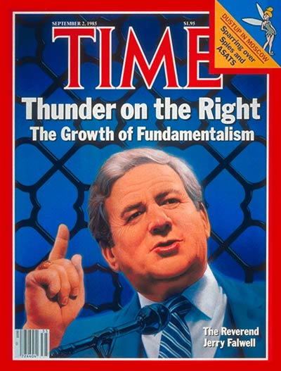 TIME Magazine Cover: Rev. Jerry Falwell -- Sep. 2, 1985