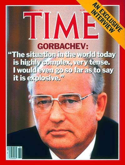 TIME Magazine Cover: Mikhail Gorbachev -- Sep. 9, 1985