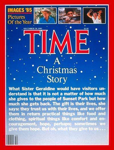 TIME Magazine Cover: Christmas in Brooklyn -- Dec. 30, 1985
