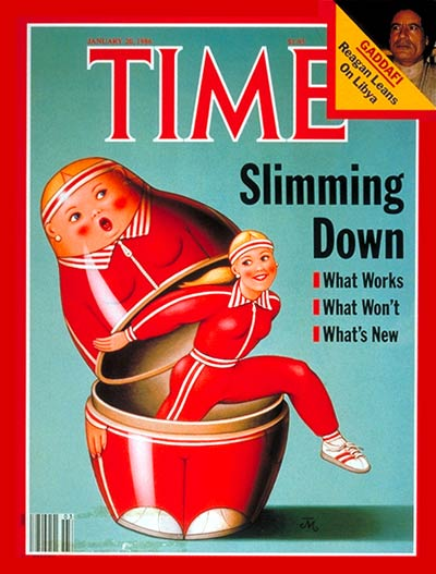 TIME Magazine Cover: Shedding Weight -- Jan. 20, 1986