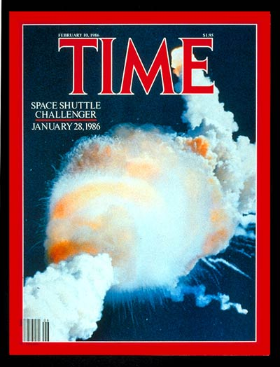 TIME Magazine Cover: Challenger' Explodes -- Feb. 10, 1986