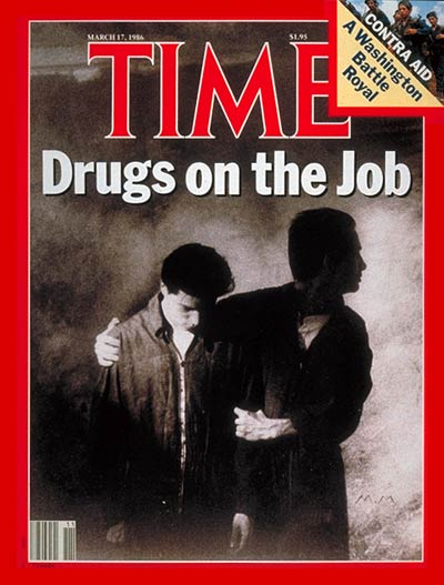 TIME Magazine Cover: Drugs at Work -- Mar. 17, 1986