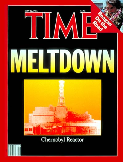 TIME Magazine Cover: Chernobyl Reactor -- May 12, 1986