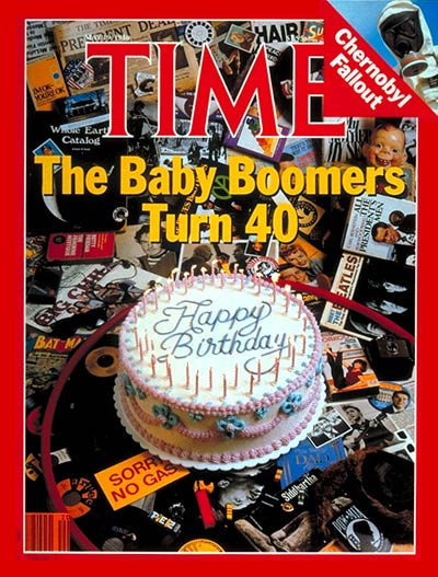 TIME Magazine Cover: Baby Boomers -- May 19, 1986