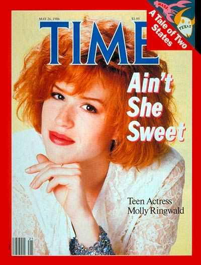 TIME Magazine Cover: Molly Ringwald -- May 26, 1986