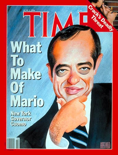 TIME Magazine Cover: Mario Cuomo -- June 2, 1986