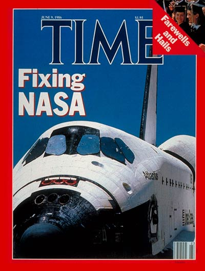 TIME Magazine Cover: Fixing NASA -- June 9, 1986