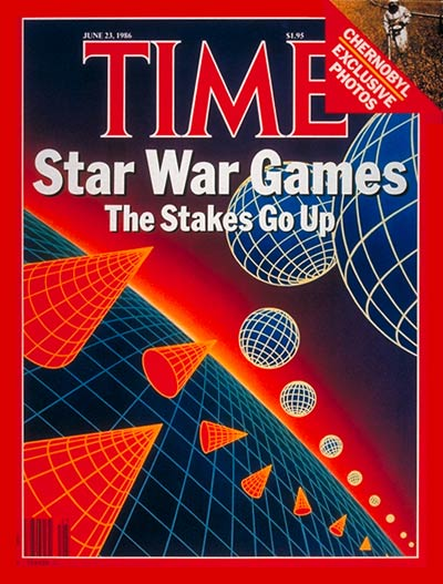 TIME Magazine Cover: Star Wars -- June 23, 1986