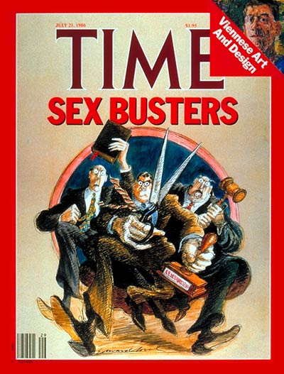 TIME Magazine Cover: Fighting Pornography -- July 21, 1986