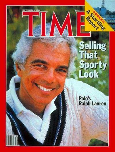 TIME Magazine Cover: Ralph Lauren -- Sep. 1, 1986