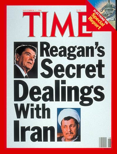 TIME Magazine Cover: Ronald Reagan's Secret Dealings With Iran -- Nov. 17, 1986