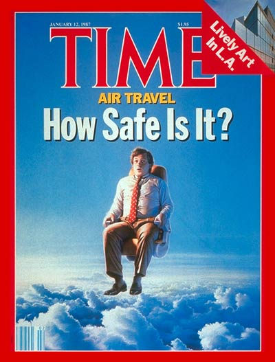 TIME Magazine Cover: Air Travel -- Jan. 12, 1987