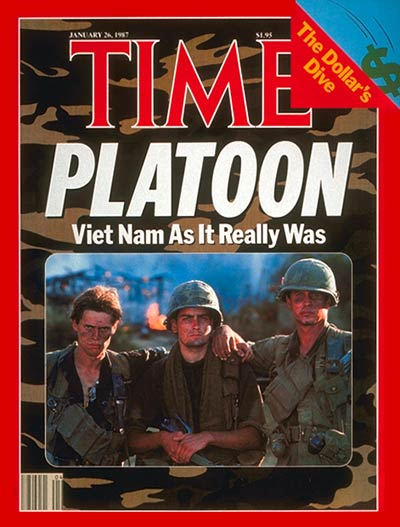 TIME Magazine Cover: Oliver Stone's 'Platoon' -- Jan. 26, 1987