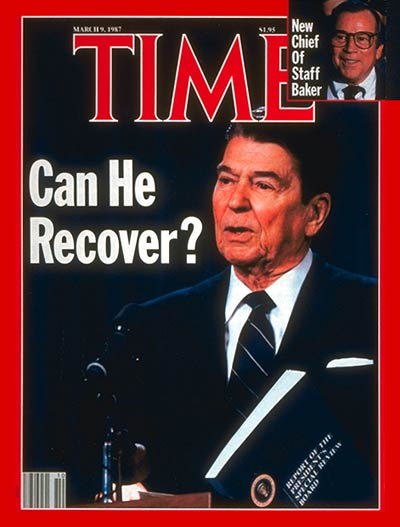 TIME Magazine Cover: Ronald Reagan -- Mar. 9, 1987
