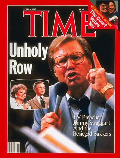 Jimmy Swaggart and Jim and Tammy Faye Bakker