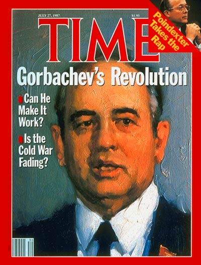 TIME Magazine Cover: Mikhail Gorbachev -- July 27, 1987