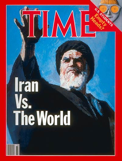 TIME Magazine Cover: Ayatullah Khomeini -- Aug. 17, 1987