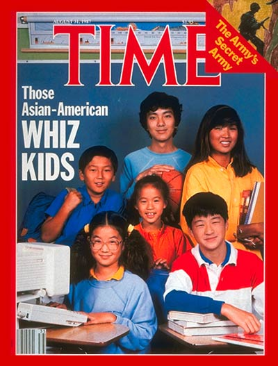 TIME Magazine Cover: Asian-American Whiz Kids -- Aug. 31, 1987