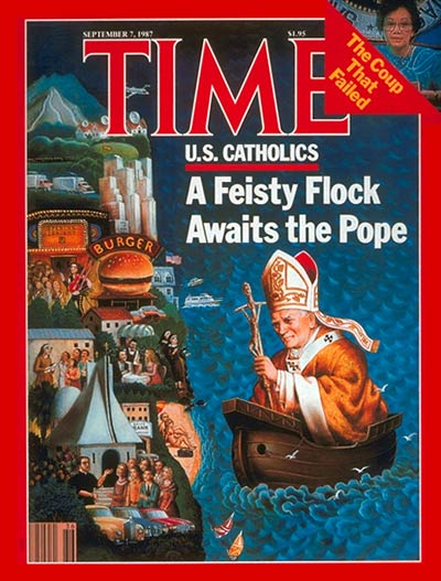 TIME Magazine Cover: U.S. Catholics -- Sep. 7, 1987