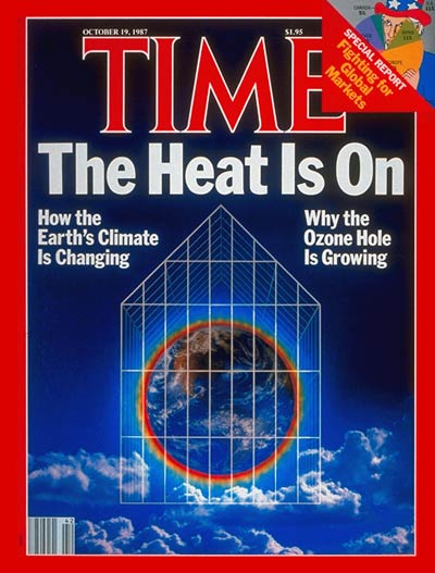 TIME Magazine Cover: Greenhouse Effect -- Oct. 19, 1987