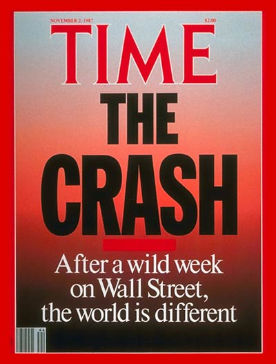TIME Magazine Cover: The Stock Market Crash -- Nov. 2, 1987