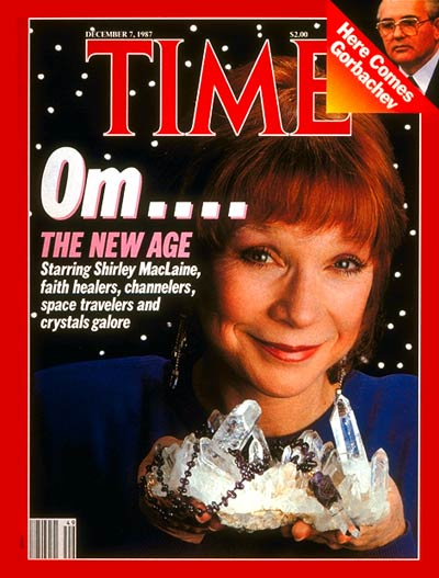 TIME Magazine Cover: Shirley Maclaine -- Dec. 7, 1987