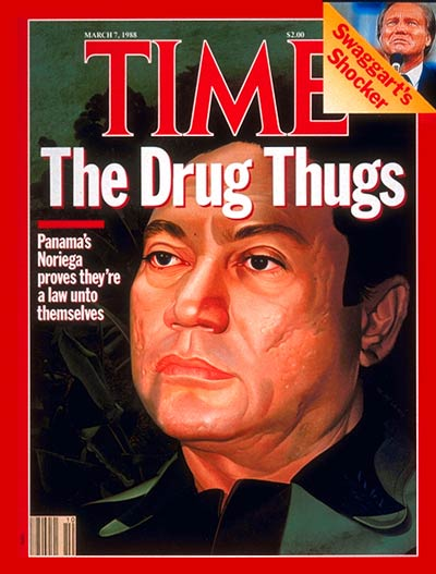 TIME Magazine Cover: Manuel Noriega -- Mar. 7, 1988