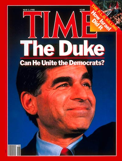 TIME Magazine Cover: Michael Dukakis -- May 2, 1988