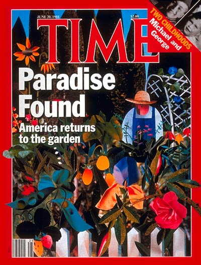 TIME Magazine Cover: Gardening -- June 20, 1988