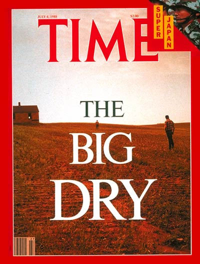 TIME Magazine Cover: Drought -- July 4, 1988