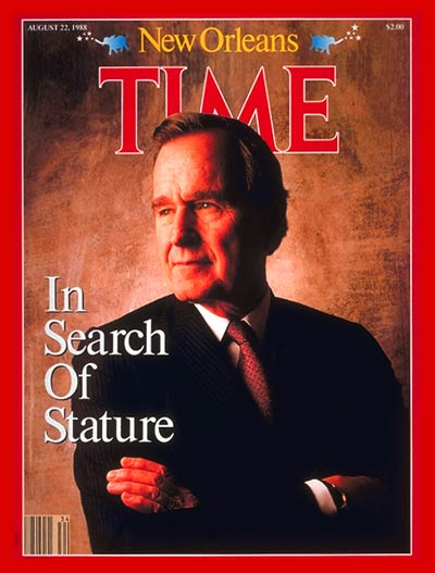 TIME Magazine Cover: George Bush -- Aug. 22, 1988