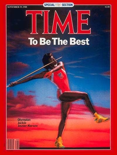 TIME Magazine Cover: Jackie Joyner-Kersee -- Sep. 19, 1988